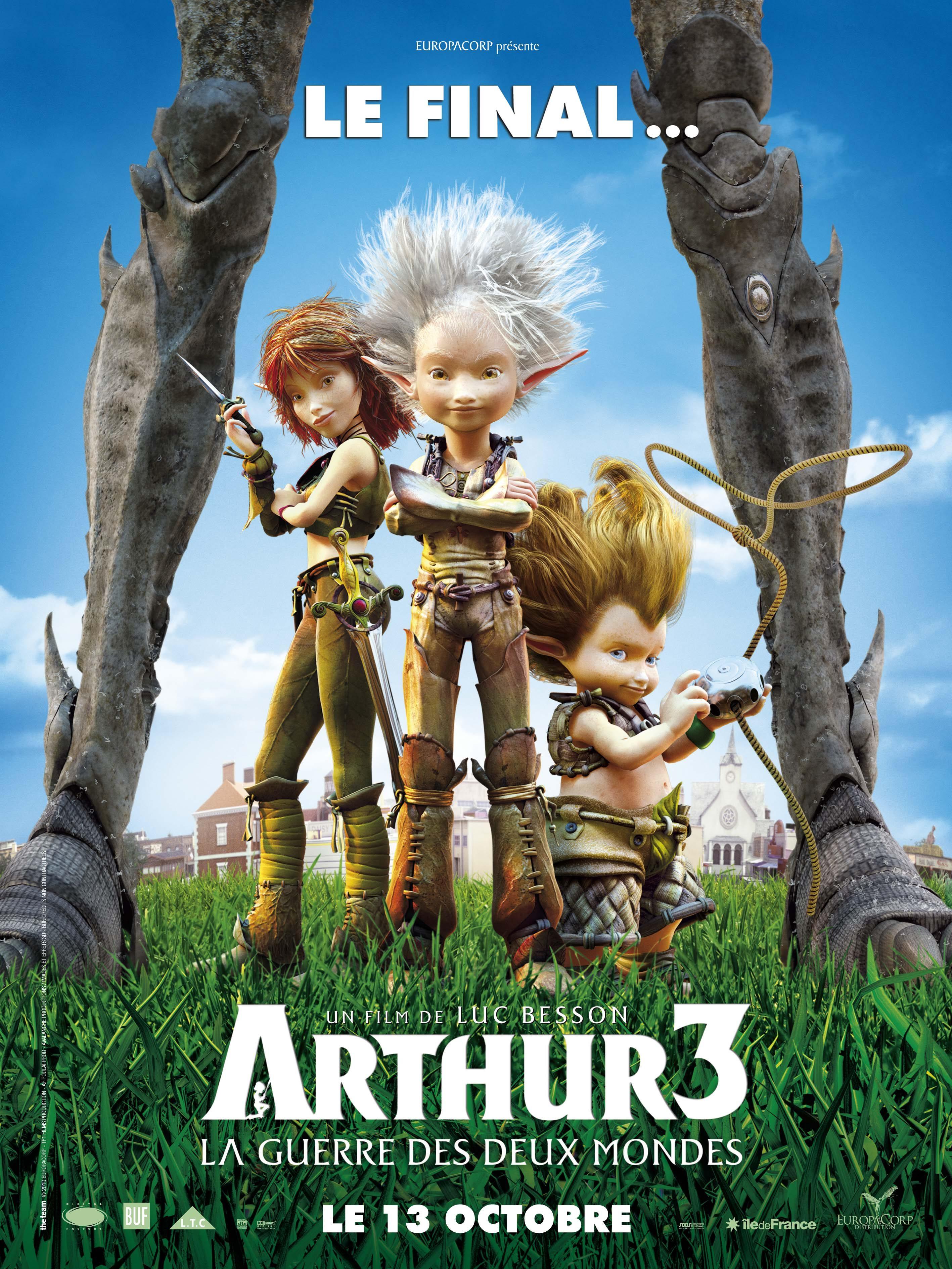 arthur et les minimoys 3 vf