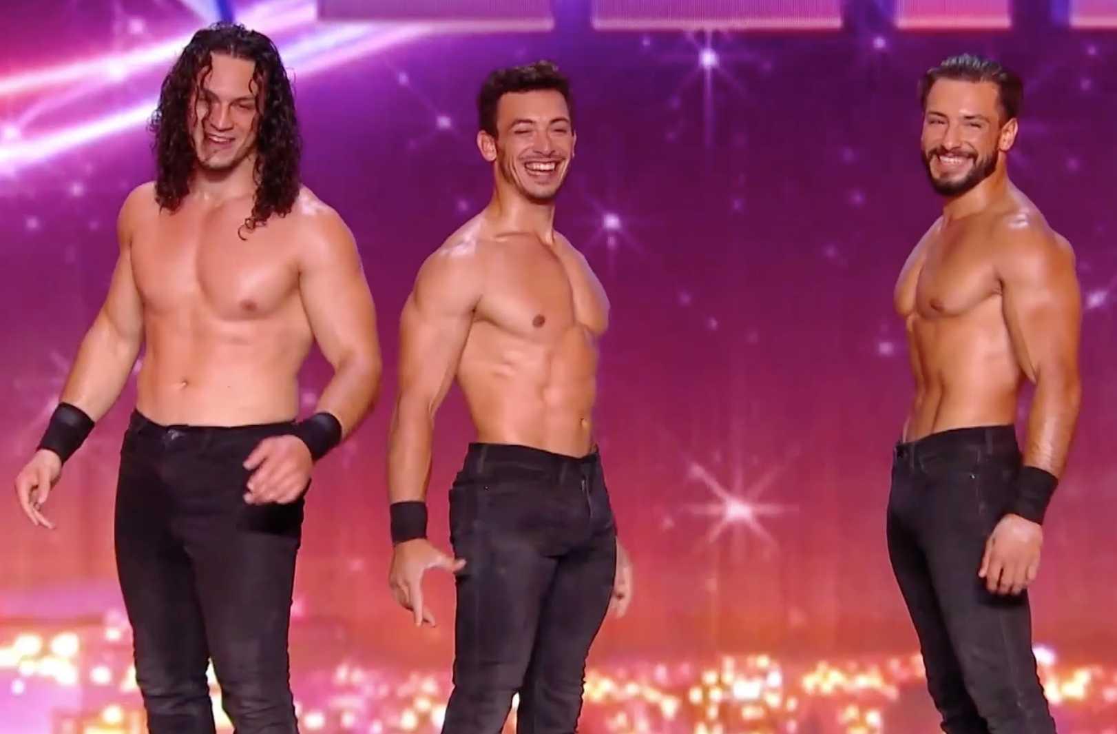 Exclu La France A Un Incroyable Talent Un Trio Sexy Affole Marianne James Video