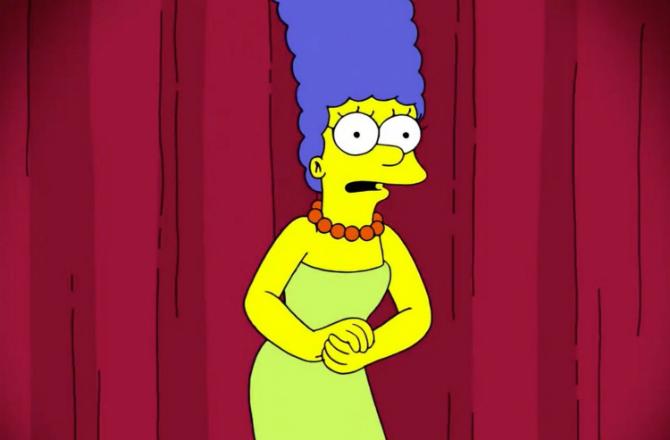 Les Simpson Marge Repond A Une Conseillere De Donald Trump