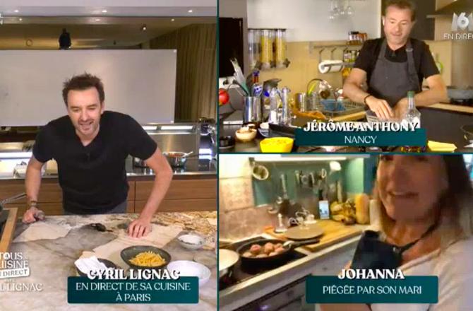 Tous En Cuisine Avec Cyril Lignac M6 Une Telespectatrice
